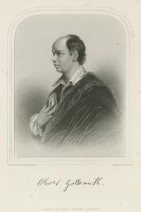 Oliver Goldsmith, Anglo-Irish Author by Sir Joshua Reynolds
