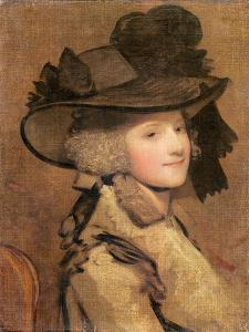 Portrait of a Woman in a Black Hat by Sir Joshua Reynolds