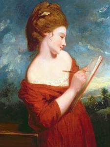 Portrait of Elizabeth Johnson, C.1780 by Sir Joshua Reynolds