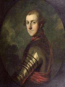 Portrait of General Charles Scott (C.1739-1813) 1760 by Sir Joshua Reynolds