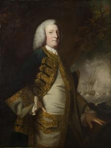 Portrait of George Anson, 1st Baron Anson, C.1754-55 by Sir Joshua Reynolds