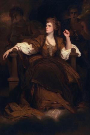 Sarah Siddons as the Tragic Muse, 1783-84