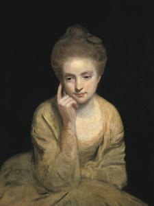 Studio Portrait of a Young Woman by Sir Joshua Reynolds
