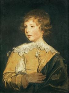 The Hon. George Seymour Conway in Van Dyck Costume by Sir Joshua Reynolds