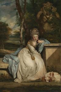 The Hon. Miss Monckton, 1777�8 by Sir Joshua Reynolds