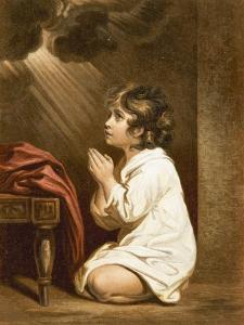 The Infant Samuel by Sir Joshua Reynolds