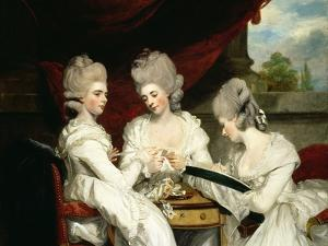 The Ladies Waldegrave, 1780 by Sir Joshua Reynolds