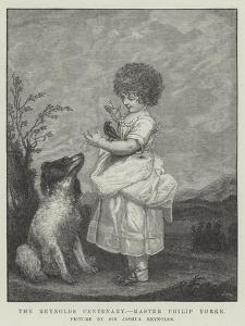 The Reynolds Centenary, Master Philip Yorke by Sir Joshua Reynolds