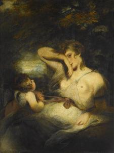 The Snake in the Grass (Love Unloosing the Zone of Beauty), 1785 by Sir Joshua Reynolds