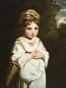 The Strawberry Girl, 1773-77 by Sir Joshua Reynolds