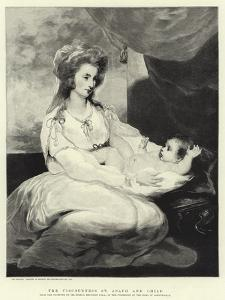 The Viscountess St Asaph and Child by Sir Joshua Reynolds