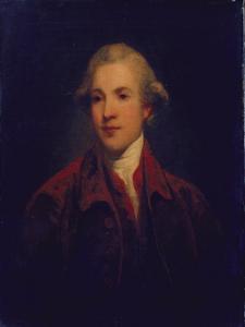 Unknown Man, Called Richard Brinsley Sheridan by Sir Joshua Reynolds