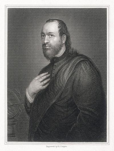 Sir Kenelm Digby, 1825-R Cooper-Giclee Print