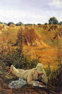 94 Degrees In The Shade by Sir Lawrence Alma-Tadema