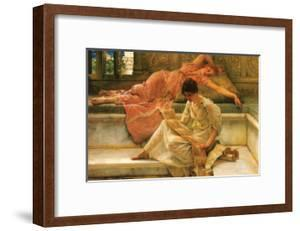 A Favorite Poet by Sir Lawrence Alma-Tadema