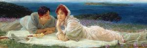 A World of their Own, 1905 by Sir Lawrence Alma-Tadema
