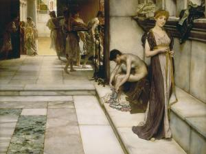 An Apodyterium, Rome, 1886 by Sir Lawrence Alma-Tadema