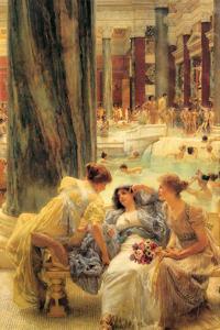 Baths of Caracalla by Sir Lawrence Alma-Tadema