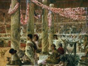 Caracalla and Geta, 1907 by Sir Lawrence Alma-Tadema
