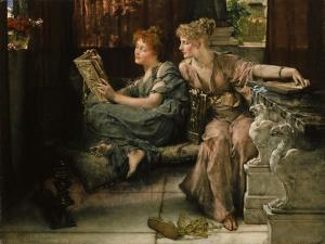 Comparison, 1892 by Sir Lawrence Alma-Tadema