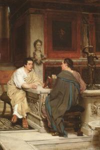 Discourse by Sir Lawrence Alma-Tadema