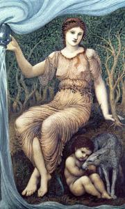 Earth Mother, 1882 by Sir Lawrence Alma-Tadema