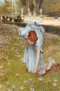 Flora by Sir Lawrence Alma-Tadema