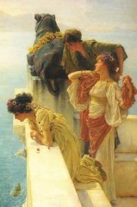 Good Vantage Point by Sir Lawrence Alma-Tadema