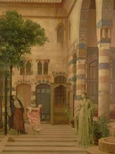 Old Damascus: Jew's Quarter or Gathering Lemons, Circa 1873-1874 by Sir Lawrence Alma-Tadema