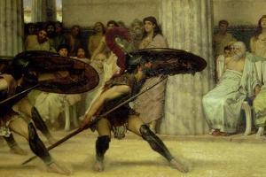 Pyrrhic Dance, 1869 by Sir Lawrence Alma-Tadema