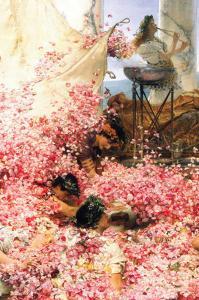 Roses of Heliogabalus by Sir Lawrence Alma-Tadema