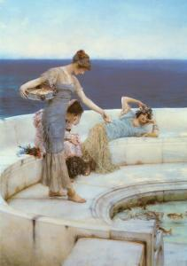 Silver Favourites, 1903 by Sir Lawrence Alma-Tadema