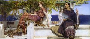 The Conversion of Paula by Sir Lawrence Alma-Tadema