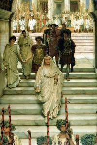 The Triumph of Titus: the Flavians, 1885 by Sir Lawrence Alma-Tadema