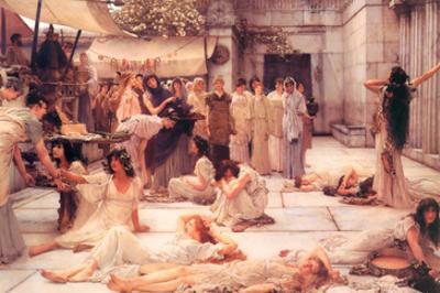 The Women of Amphissa by Sir Lawrence Alma-Tadema