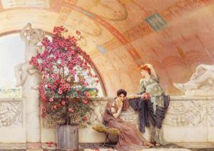 Unconscious Rivals, 1893 by Sir Lawrence Alma-Tadema