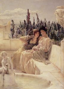 Whispering Noon, 1896 by Sir Lawrence Alma-Tadema