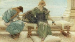 Youth, 1908 by Sir Lawrence Alma-Tadema