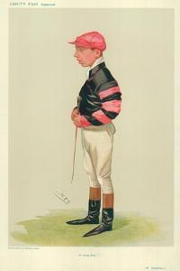 Arthur Templeman, a Rising Star, 7 November 1906, Vanity Fair Cartoon by Sir Leslie Ward