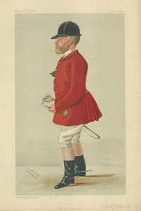 Colonel John Hargreaves by Sir Leslie Ward