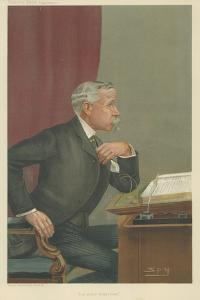 Ernest Baggallay by Sir Leslie Ward