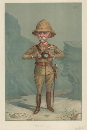 Field Marshal Lord Roberts, Bobs, 21 June 1900, Vanity Fair Cartoon