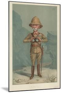 Field Marshal Lord Roberts, Bobs, 21 June 1900, Vanity Fair Cartoon by Sir Leslie Ward