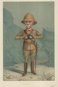 Field Marshal Lord Roberts, Bobs, 21 June 1900, Vanity Fair Cartoon by Sir Leslie Ward
