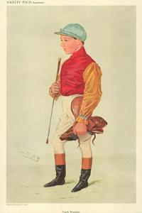 Frank Wooton, 8 September 1909, Vanity Fair Cartoon by Sir Leslie Ward