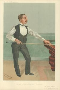 Harry W Stevenson, He Might Be Champion If There Were a Championship, 25 May 1905, Vanity Fair… by Sir Leslie Ward