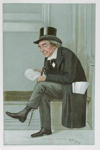 James Staats Forbes, 'Spy' Cartoon from Vanity Fair, Pub. 1900 by Sir Leslie Ward