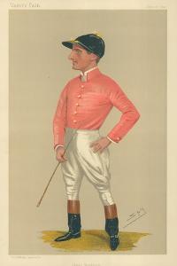 James Woodburn, 21 June 1890, Vanity Fair Cartoon by Sir Leslie Ward