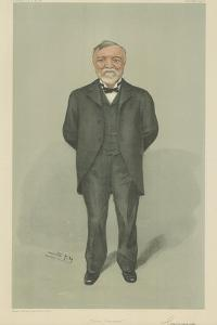 Mr Andrew Carnegie by Sir Leslie Ward