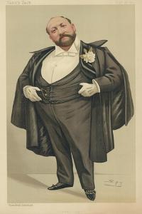 Mr Augustus Henry Glossop Harris by Sir Leslie Ward
